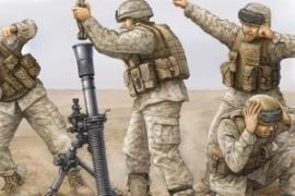 Trumpeter 423 Modern US Marine M252 Team