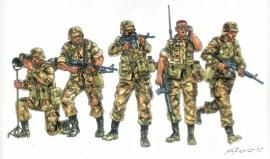 Italeri 6168 US Infantry 90s