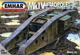 EMHAR  5005 Mk IV WWI  Tank with rear mortar