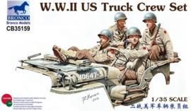 Bronco CB35159 WWII US Truck Crew Set