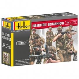 Heller 49604 Infanterie Britannique