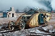 "MB 72002 MK I ""Female"" British Tank"