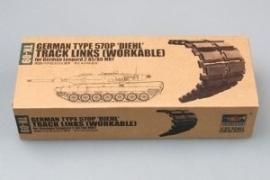 """Trumpeter 2039 German Type 570P """"Diehl"""" Track Links (Workable)"""