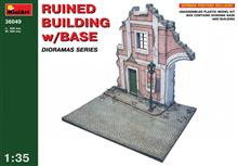 Mini Art 36049 Ruined Building w/ Base