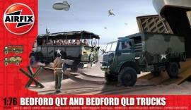 Airfix A03306 Bedford QLT and Bedford QLD trucks