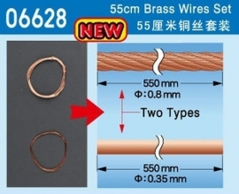 Master Tools 06628 55 cm Brass Wires Set