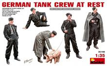 Mini Art 35198 German Tank Crew At Rest