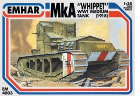 EMHAR  4003 Mk A WWI  Medium Tank (1918)