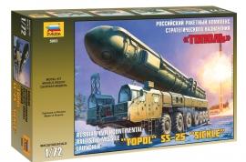"""Zvezda 5003 """"TOPOL"""" SS-25 """"SICKLE"""""""