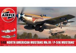 Airfix A05137 P-51K Mustang