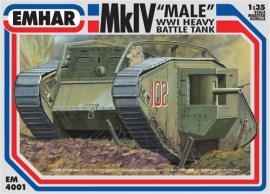 EMHAR 4001 Mk IV WWI Tank
