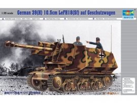 Trumpeter 353 German 39(H) mit 10,5cm LeFH 18 (Sf)