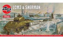 Airfix A03301V LCM3 & Sherman