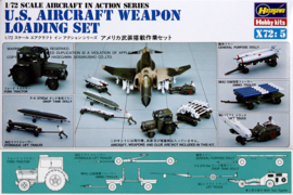 Hasegawa X72-5 U.S. Aircraft Weapon Loading Set