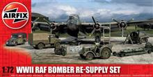 Airfix A05330 WWII RAF Bomber Re-Supply Set