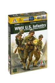 Italeri 15603 WWII US Infantry