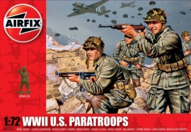 Airfix A01751 WWII US Paratroops