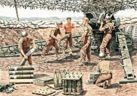 MB 3577 US Artillery Crew