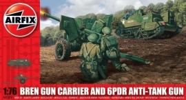 Airfix A01309 Bren Gun Carrier and 6pdr Anti-Tank Gun