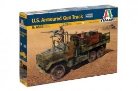 Italeri 6503 US Armoured Gun Truck