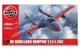 Airfix A02058A De Havilland Vampire T.11/J-28C