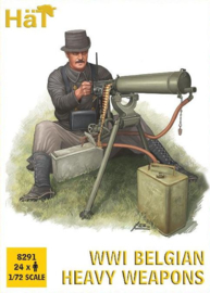 Hat 8291 WWI Belgian Heavy Weapons