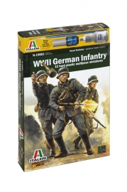 Italeri 15601 WWII German Infantry