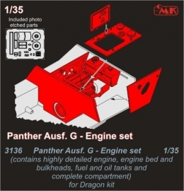 CMK 3136 Panther Ausf.G Engine set