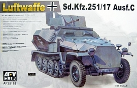 AFV Club 35118 Sd.Kfz.251/17 Ausf.C