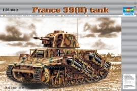 Trumpeter 352 France 39(H) tank