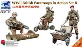 Bronco CB35192 WWII British Paratroops In Action Set B
