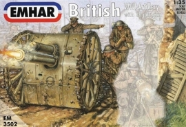 EMHAR 3502 British WWI Artillery