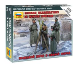 Zvezda 6232 German Headquarters in Winter Uniform