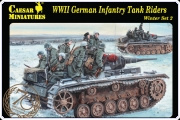 Caesar H079 WWII German Infantry Tank Riders