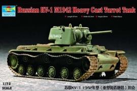 Trumpeter 7231 Russian KV-1 M1942