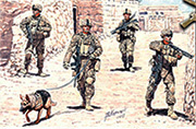 MB 35154 Modern US Infantrymen. Corden and Search.