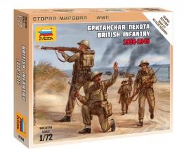 Zvezda 6166 British Infantry 1939-1945