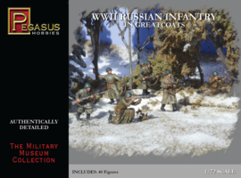 Pegasus 7271 WWII Russian Infantry