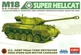 "Academy 35002 M18 ""Super Hellcat"""