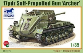 Bronco CB35074 17pdr Self -Propelled Gun 'Archer'