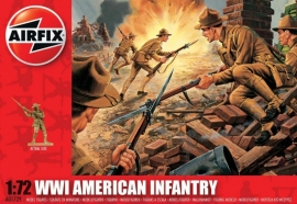 Airfix A01729 WWI American Infantry