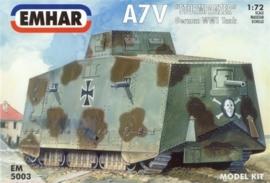 EMHAR 5003 A7V German WWI Tank