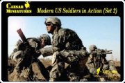 Caesar H094 Modern US Soldiers in Action (Set 2)
