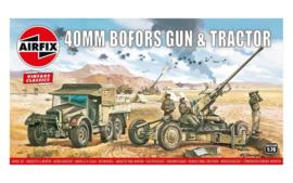 Airfix A02314V Bofors 40mm Gun & Tractor