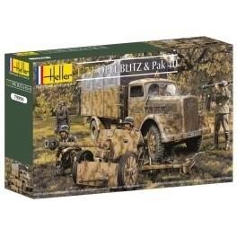 Heller 79994 Opel Blitz & Pak 40