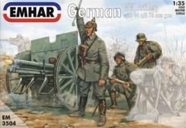 EMHAR 3504 German WWI Artillery