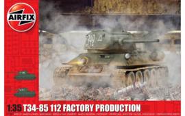 Airfix A1361 T34-85 112 Factory Production