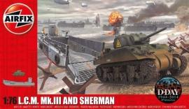 Airfix A03301 LCM Mk.III and Sherman