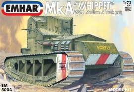EMHAR  5004 Mk A WWI  Medium Tank (1918)