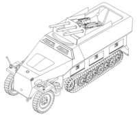 "CMK 2015 Sd. Kfz. 251/21 Ausf.D ""Drilling"""